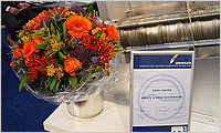 September 2004. Volute Dewatering Press was nominated for the innovation award at Aquatech Amsterdam 2004.