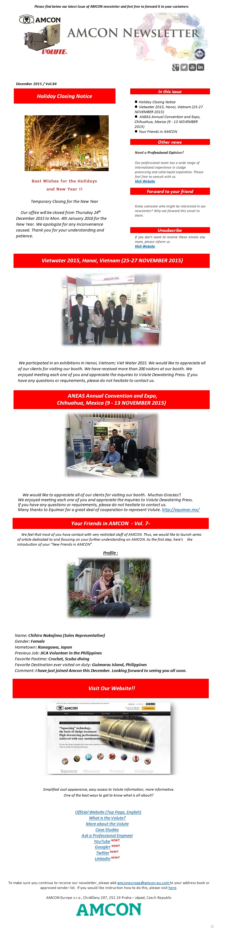 Newsletter 12-2015