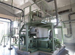 VOLUTE dewatering press installation