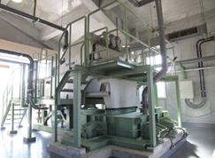 VOLUTE dewatering press installation