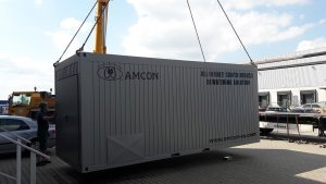 , Containerized solution, Fish hatchery, Norway, AMCON Europe s.r.o.