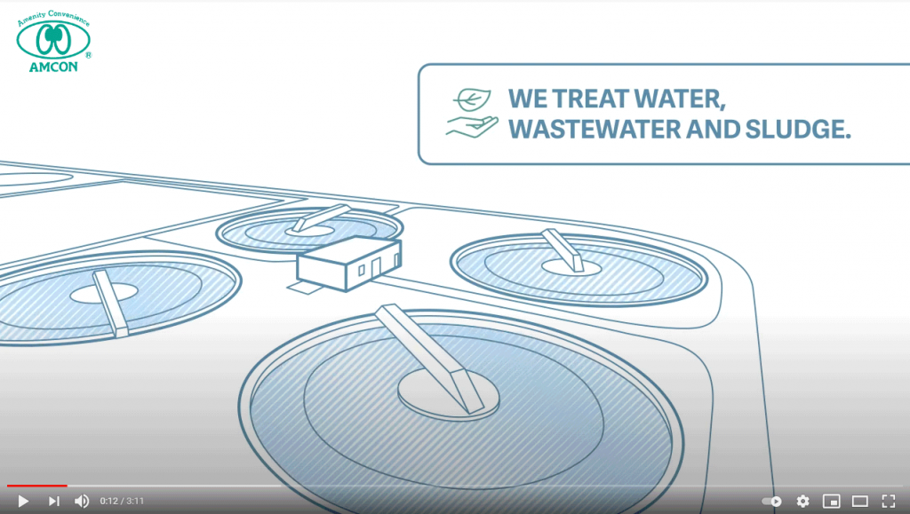 AMCON Europe water, wastewater and sludge treatment video