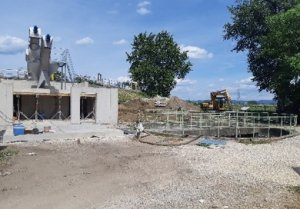 Installation of VOLUTE at wastewater treatment plant TAT, Hungary